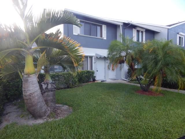 2641 Gately Drive W #502, West Palm Beach, FL 33415 (MLS #RX-10742215) :: Castelli Real Estate Services
