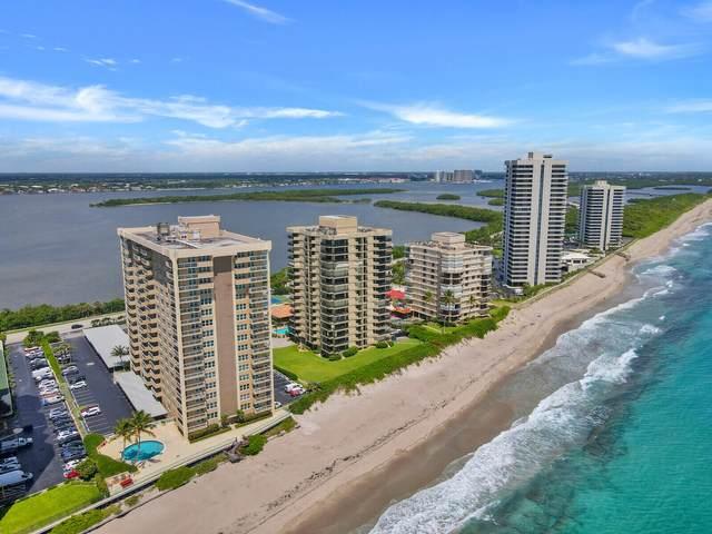 5440 N Ocean Drive #1003, Singer Island, FL 33404 (#RX-10742371) :: Heather Towe | Keller Williams Jupiter