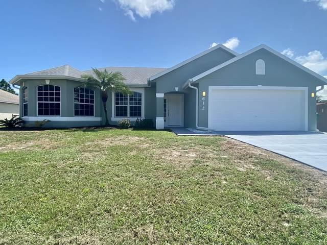 612 SW Mccoy Avenue, Port Saint Lucie, FL 34953 (#RX-10742391) :: Michael Kaufman Real Estate