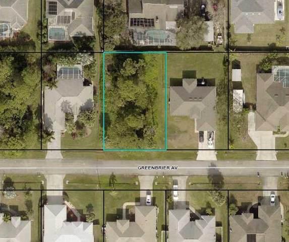 949 Greenbrier Avenue, Sebastian, FL 32958 (MLS #RX-10742444) :: Castelli Real Estate Services