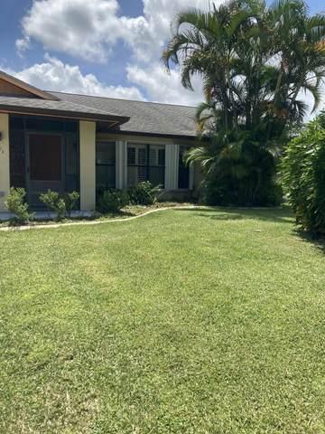 870 SW Abbot Avenue, Port Saint Lucie, FL 34953 (#RX-10742489) :: Baron Real Estate