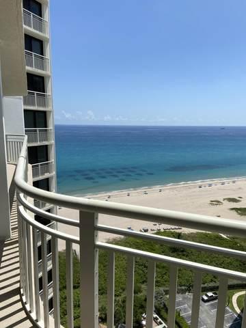 3000 N Ocean Drive 23H, Singer Island, FL 33404 (MLS #RX-10742501) :: Berkshire Hathaway HomeServices EWM Realty