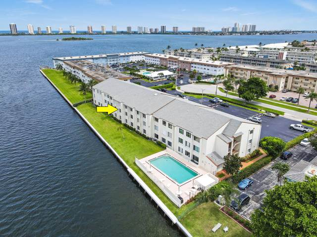 125 Shore Court 205 B, North Palm Beach, FL 33408 (#RX-10742556) :: Michael Kaufman Real Estate