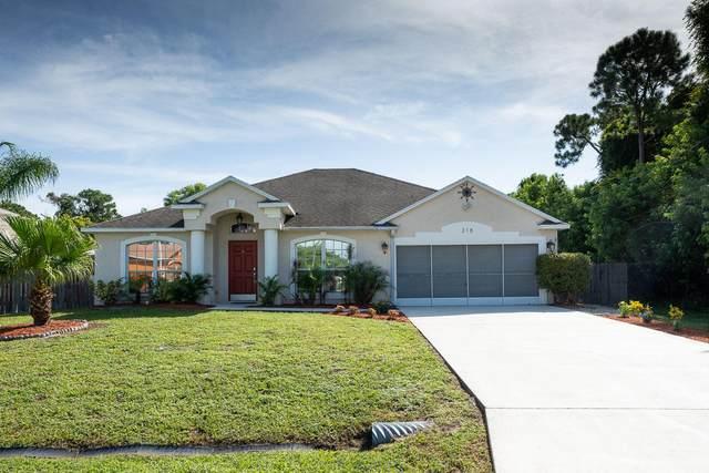 318 SW Ridgecrest Drive, Port Saint Lucie, FL 34953 (MLS #RX-10742705) :: Castelli Real Estate Services