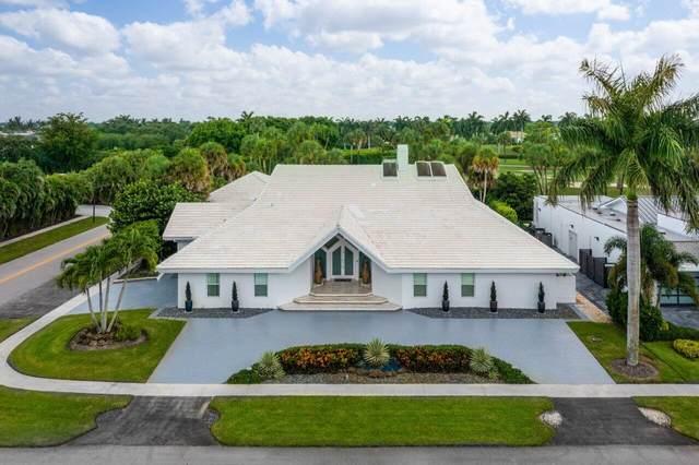 4660 Cherry Laurel Lane, Delray Beach, FL 33445 (MLS #RX-10742826) :: Berkshire Hathaway HomeServices EWM Realty