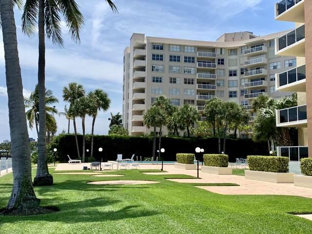 2800 N Flagler Drive #910, West Palm Beach, FL 33407 (#RX-10743037) :: Heather Towe   Keller Williams Jupiter