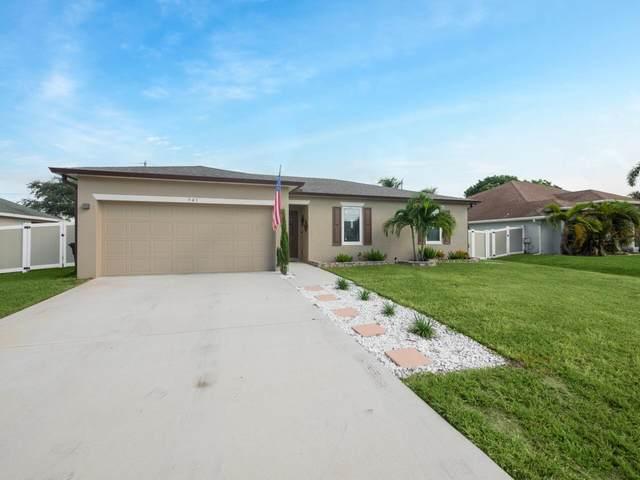 941 SW Jeremko Avenue, Port Saint Lucie, FL 34953 (#RX-10743089) :: Michael Kaufman Real Estate