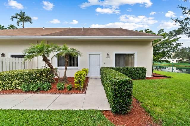 10109 NW 33rd Street #10109, Sunrise, FL 33351 (MLS #RX-10743412) :: Berkshire Hathaway HomeServices EWM Realty