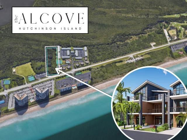 9461-9467 S Ocean Drive, Hutchinson Island, FL 34949 (#RX-10743437) :: Posh Properties