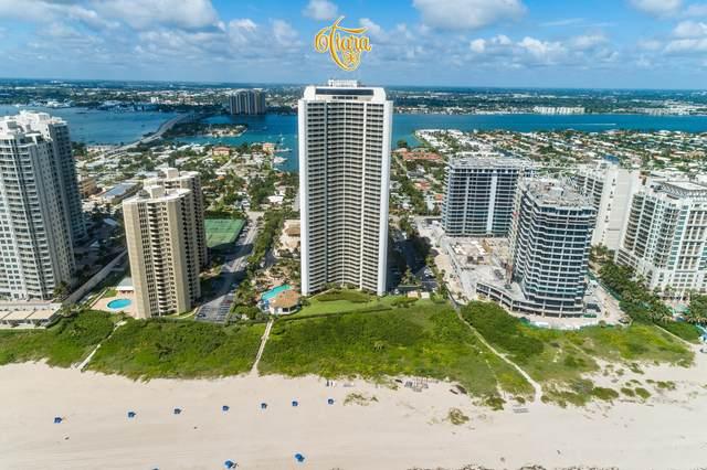 3000 N Ocean Drive 8-F, Singer Island, FL 33404 (MLS #RX-10743486) :: Berkshire Hathaway HomeServices EWM Realty