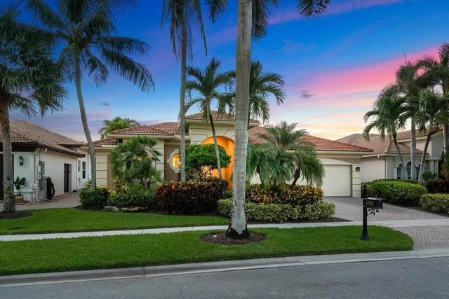 16033 Brier Creek Drive, Delray Beach, FL 33446 (#RX-10743490) :: Baron Real Estate