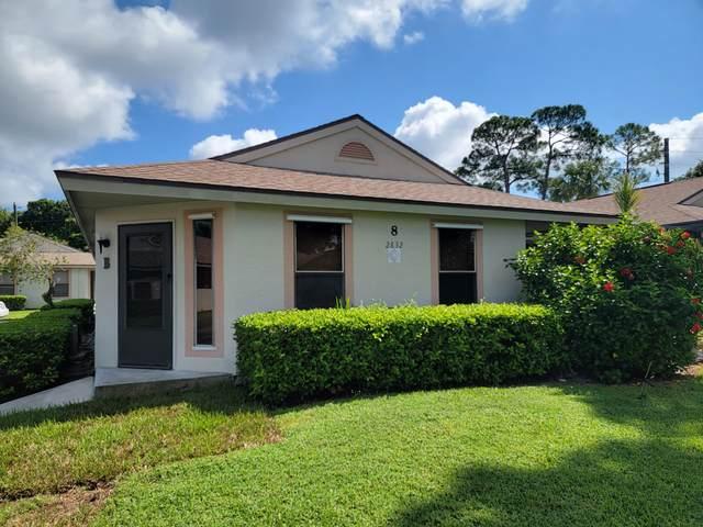 2832 Stoneway Lane Apt B, Fort Pierce, FL 34982 (#RX-10743708) :: Michael Kaufman Real Estate