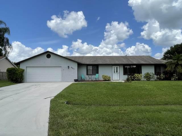 881 SW General Patton Terrace, Port Saint Lucie, FL 34953 (#RX-10743761) :: Michael Kaufman Real Estate