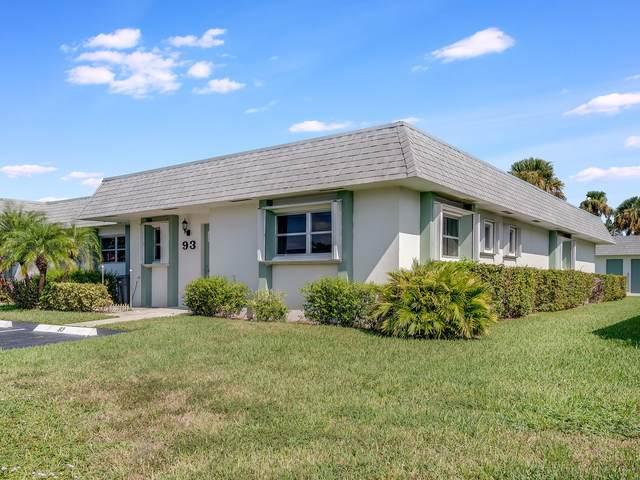 2638 Gately Drive E #93, West Palm Beach, FL 33415 (#RX-10743834) :: Michael Kaufman Real Estate
