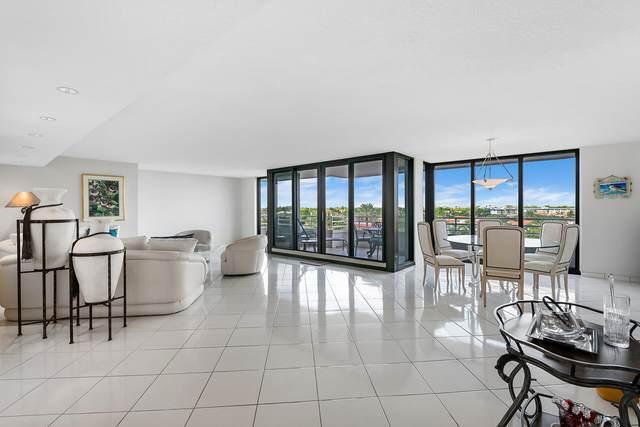 2901 S Ocean Boulevard #405, Highland Beach, FL 33487 (MLS #RX-10744022) :: Berkshire Hathaway HomeServices EWM Realty