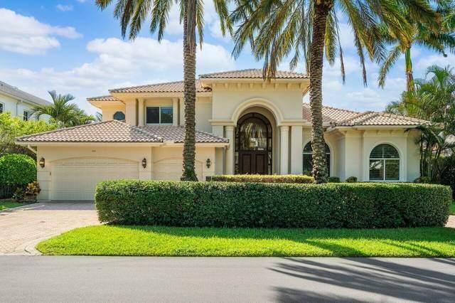 342 S Silver Palm Road, Boca Raton, FL 33432 (MLS #RX-10744061) :: Berkshire Hathaway HomeServices EWM Realty