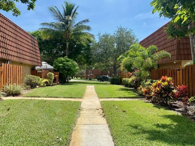 3203 Spanish Wells Drive 30-A, Delray Beach, FL 33445 (MLS #RX-10744120) :: Berkshire Hathaway HomeServices EWM Realty