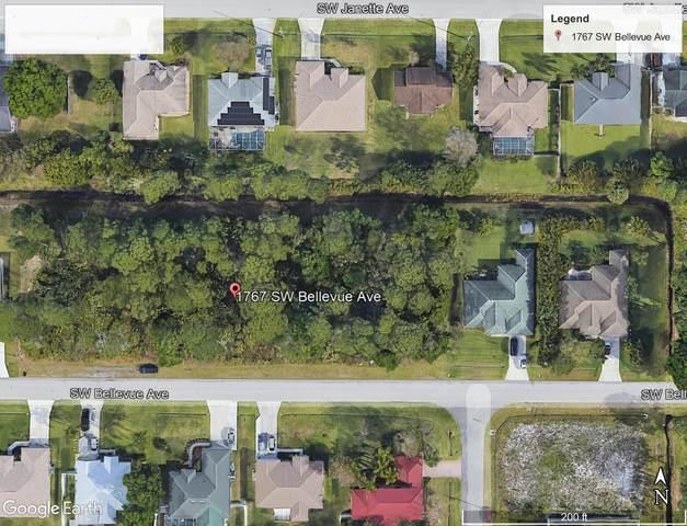 1767 SW Bellevue Avenue, Port Saint Lucie, FL 34953 (MLS #RX-10744222) :: Castelli Real Estate Services