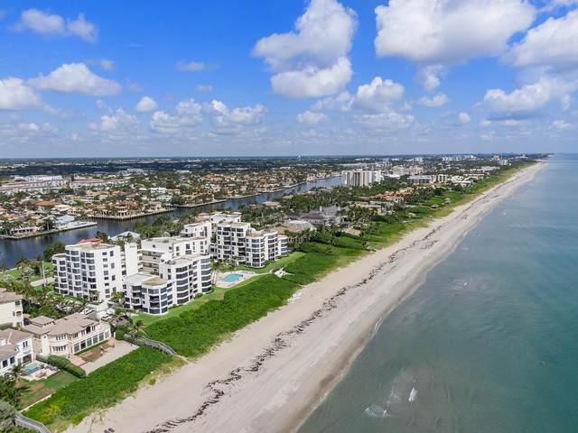 2575 S Ocean Boulevard 101S, Highland Beach, FL 33487 (MLS #RX-10744475) :: Berkshire Hathaway HomeServices EWM Realty