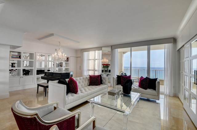 3740 S Ocean Boulevard #1403, Highland Beach, FL 33487 (MLS #RX-10744550) :: Berkshire Hathaway HomeServices EWM Realty