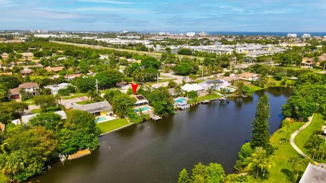 516 Lindell Boulevard, Delray Beach, FL 33444 (MLS #RX-10744585) :: Berkshire Hathaway HomeServices EWM Realty