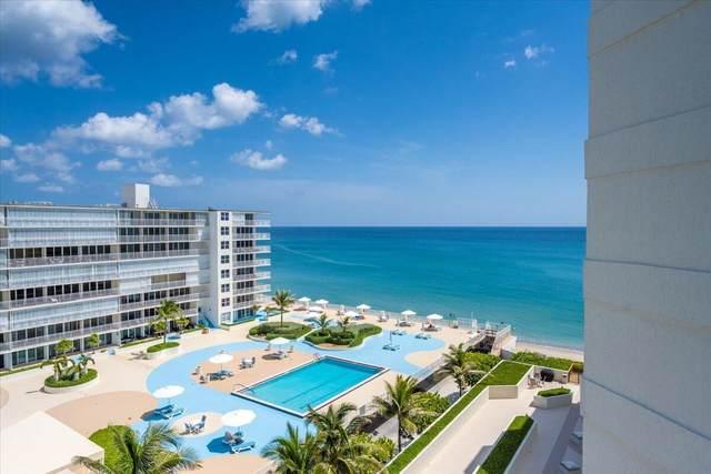 3560 S Ocean Boulevard #806, South Palm Beach, FL 33480 (MLS #RX-10744693) :: Berkshire Hathaway HomeServices EWM Realty