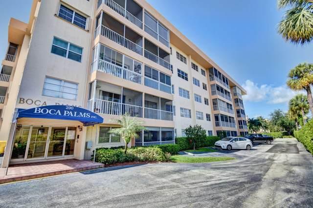 290 W Palmetto Park Road #504, Boca Raton, FL 33432 (MLS #RX-10744806) :: Berkshire Hathaway HomeServices EWM Realty