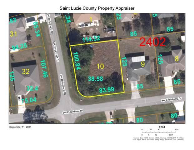199 SW Elderberry Drive, Port Saint Lucie, FL 34953 (MLS #RX-10744936) :: Castelli Real Estate Services