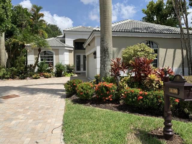 16100 Villa Vizcaya Place, Delray Beach, FL 33446 (MLS #RX-10745083) :: Berkshire Hathaway HomeServices EWM Realty