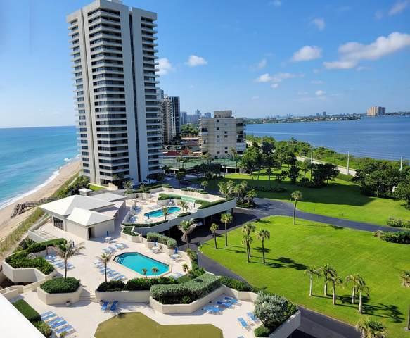 5540 N Ocean Drive 9B, Singer Island, FL 33404 (MLS #RX-10745151) :: Castelli Real Estate Services