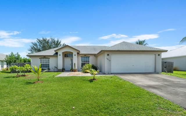 1813 SE Camilo Street, Port Saint Lucie, FL 34952 (MLS #RX-10745166) :: Castelli Real Estate Services