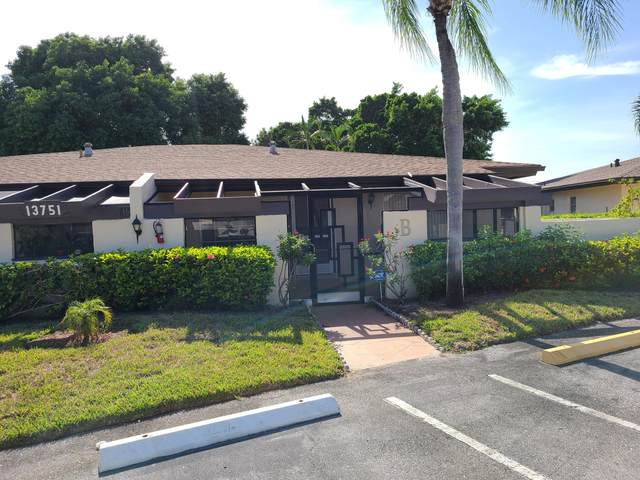 13751 Via Aurora B, Delray Beach, FL 33484 (MLS #RX-10745260) :: Berkshire Hathaway HomeServices EWM Realty