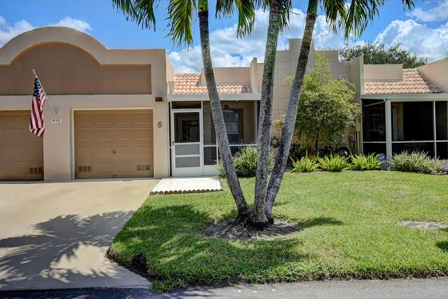 9125 Flynn Circle # 5, Boca Raton, FL 33496 (#RX-10745292) :: Baron Real Estate