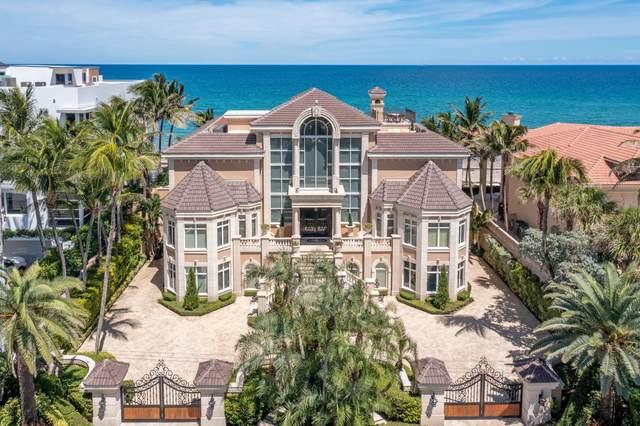 4217 S Ocean Boulevard, Highland Beach, FL 33487 (MLS #RX-10745363) :: Berkshire Hathaway HomeServices EWM Realty