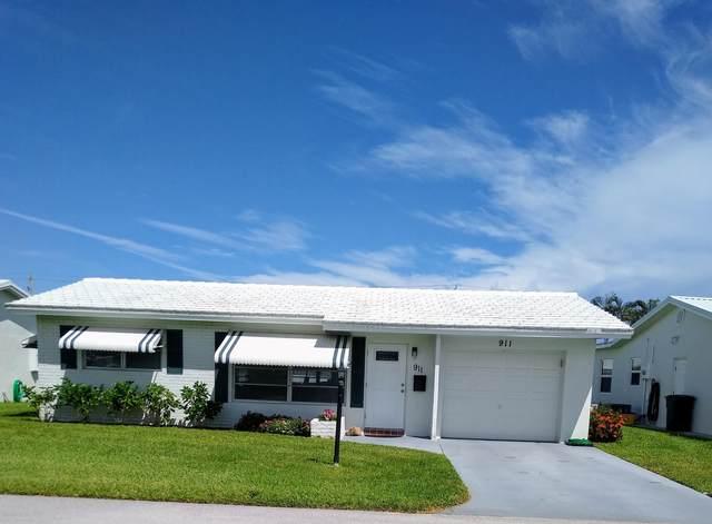 911 SW 3rd Avenue, Boynton Beach, FL 33426 (MLS #RX-10745382) :: Castelli Real Estate Services