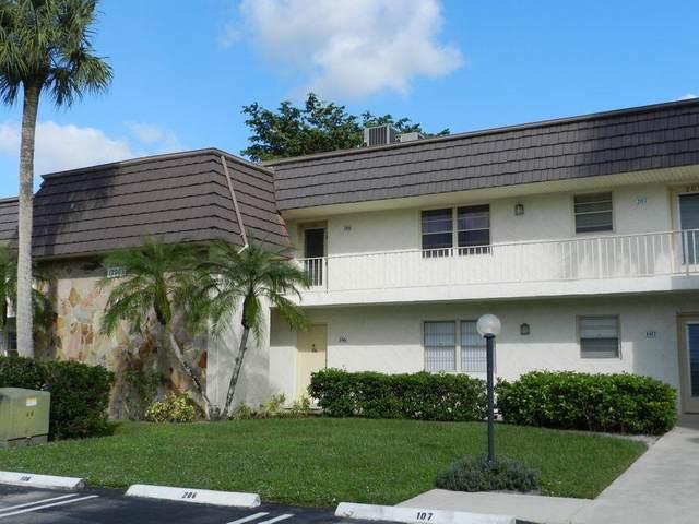 12005 Poinciana Boulevard #106, Royal Palm Beach, FL 33411 (#RX-10745414) :: Ryan Jennings Group