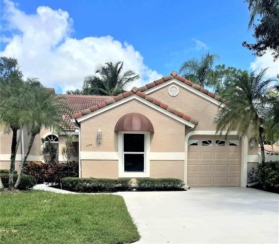1604 Rosewood Way, Palm Beach Gardens, FL 33418 (MLS #RX-10745512) :: Castelli Real Estate Services