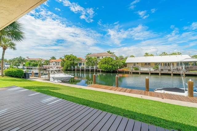 4206 S Ocean 1 Boulevard #1, Highland Beach, FL 33487 (MLS #RX-10745518) :: Berkshire Hathaway HomeServices EWM Realty