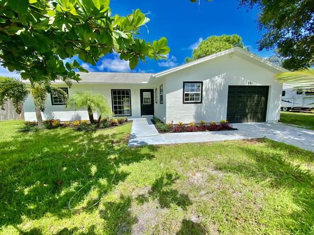 581 SE Crescent Avenue, Port Saint Lucie, FL 34984 (#RX-10745538) :: Baron Real Estate