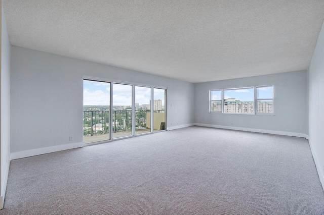 1200 Hibiscus Avenue #1802, Pompano Beach, FL 33062 (MLS #RX-10745546) :: Berkshire Hathaway HomeServices EWM Realty