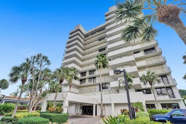 4600 S Ocean Boulevard #602, Highland Beach, FL 33487 (MLS #RX-10745612) :: Berkshire Hathaway HomeServices EWM Realty