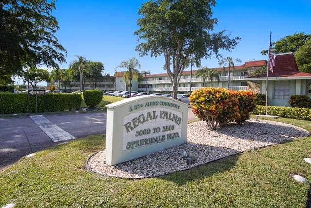 3400 Springdale Boulevard #303, Palm Springs, FL 33461 (#RX-10745616) :: IvaniaHomes | Keller Williams Reserve Palm Beach