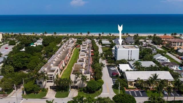 1112 Ocean Terrace 2A, Delray Beach, FL 33483 (MLS #RX-10745664) :: Castelli Real Estate Services