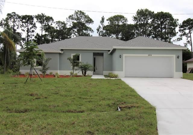 1956 SW Gold Lane, Port Saint Lucie, FL 34953 (MLS #RX-10745739) :: Berkshire Hathaway HomeServices EWM Realty