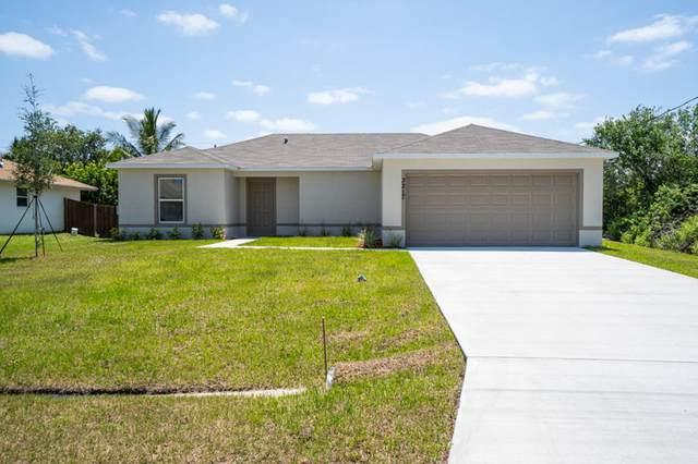 2919 SW Boxwood Circle, Port Saint Lucie, FL 34952 (MLS #RX-10745759) :: Berkshire Hathaway HomeServices EWM Realty