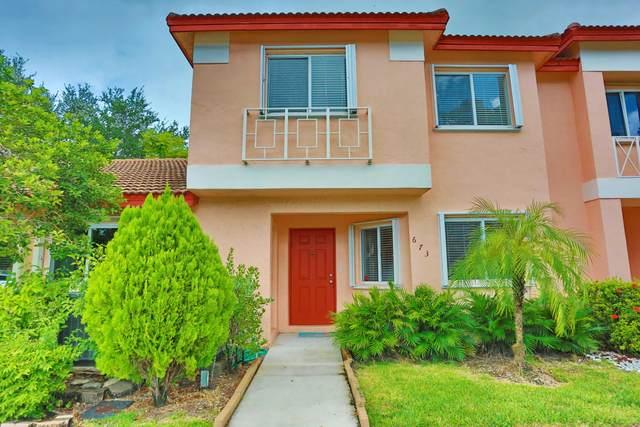 673 NW 208th Terrace, Pembroke Pines, FL 33029 (MLS #RX-10745781) :: Castelli Real Estate Services