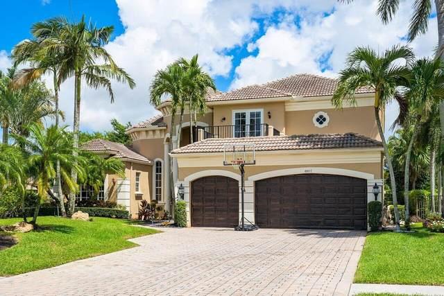 6807 Royal Orchid Circle, Delray Beach, FL 33446 (MLS #RX-10745806) :: Berkshire Hathaway HomeServices EWM Realty