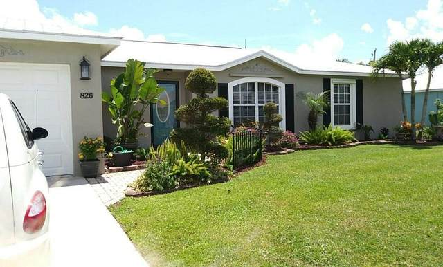 826 SW Hamberland Avenue, Port Saint Lucie, FL 34953 (MLS #RX-10745829) :: Berkshire Hathaway HomeServices EWM Realty
