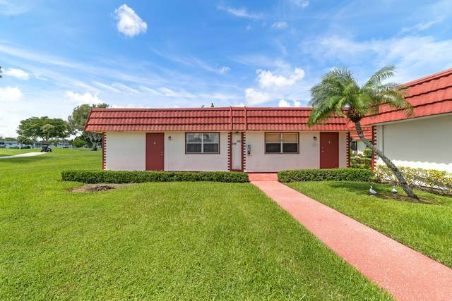 240 Waterford J, Delray Beach, FL 33446 (#RX-10745906) :: The Power of 2   Century 21 Tenace Realty