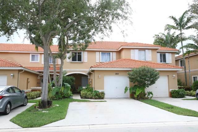 3163 Osprey Lane, West Palm Beach, FL 33411 (#RX-10746040) :: Ryan Jennings Group